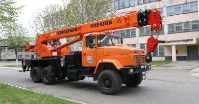Крани на базі КрАЗу обслуговуватимуть українську ГТС